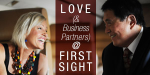Miłość (ipartnerzy biznesowi) odpierwszego wejrzenia