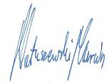 Podpis Marcin Matuszewski