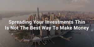 Dlaczego dywersyfikacja jest złą radą inwestycyjną
